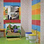 Inodoros y lavabos para niños